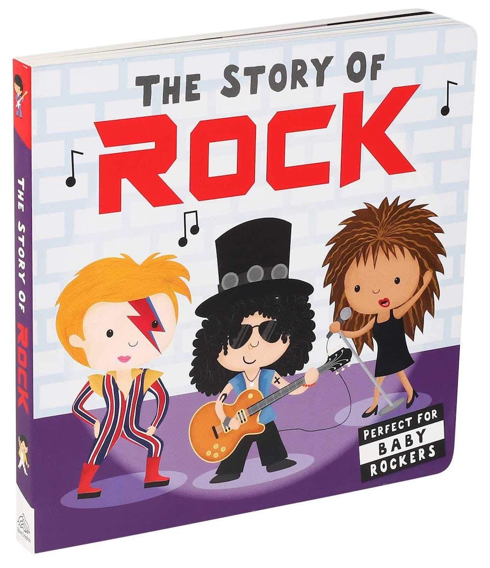 the story of rock picture book