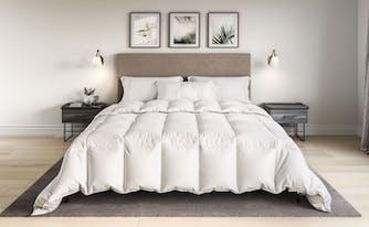 black friday bedding deals - saatva comforter on sale for black friday