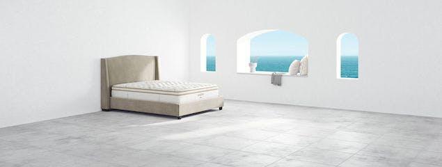 Saatva's Minori bed frame