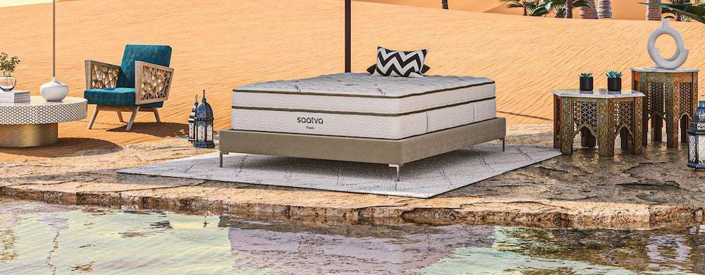saatva classic innerspring mattress in desert