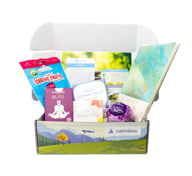 Calmbox subscription box for Mother's Day