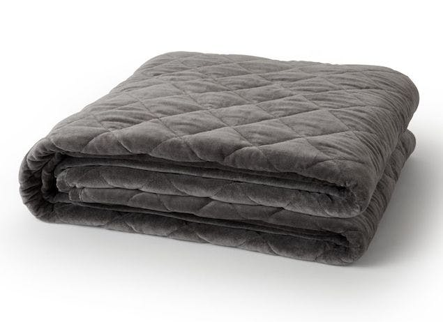 Saatva's weighted blanket for Mother's Day