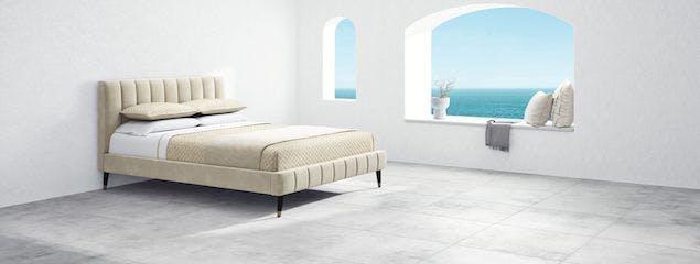 Saatva's Valencia bed frame