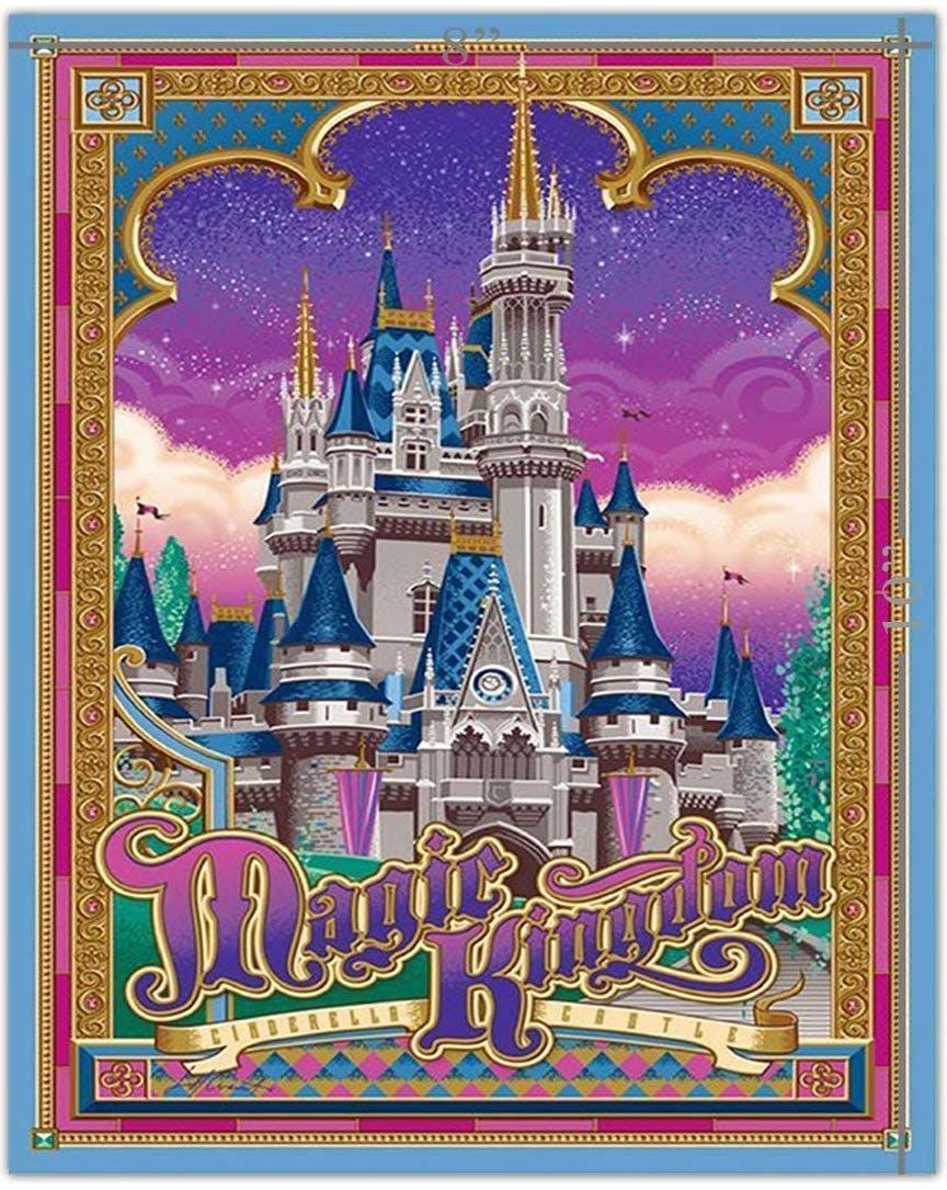 disney magic kingdom poster