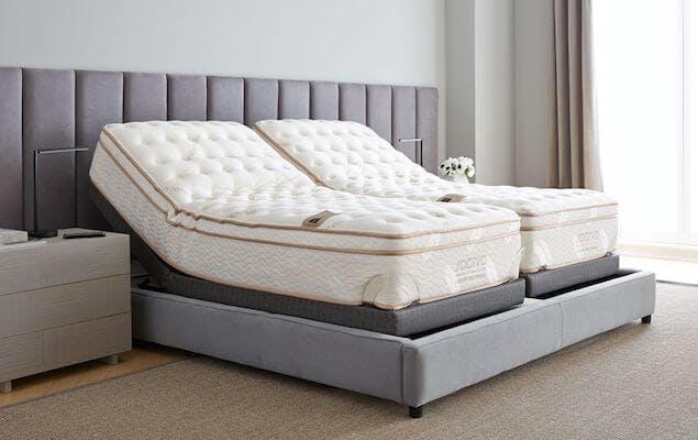 best mattress brands - lineal adjustable base image
