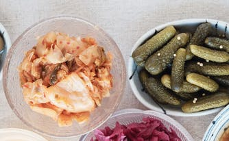 gut health and sleep - image of fermented foods for healthy gut