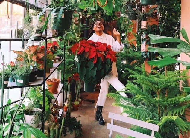 plant kween christopher, black instagram influencer