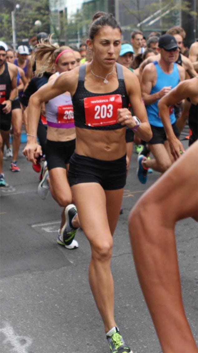 Olympic runner Natasha LaBeaud Anzures