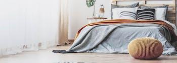 image of clean bedroom