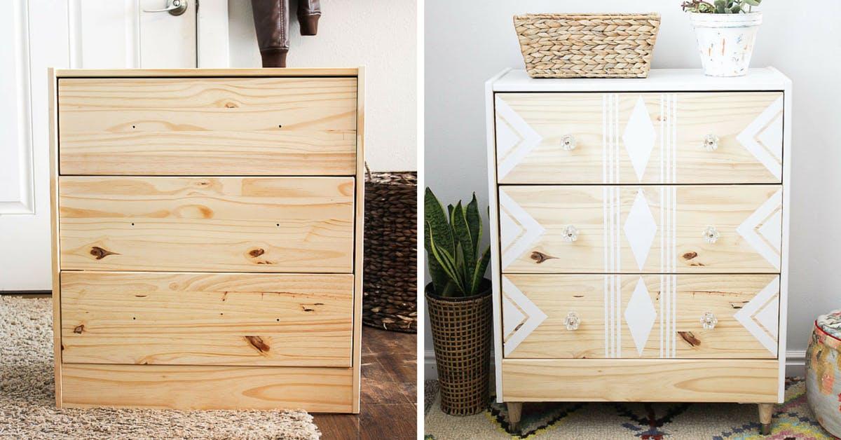 Rast Dresser - Ikea hacks storage