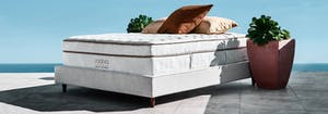 image of saatva classic mattress, reviewed by architectural digest