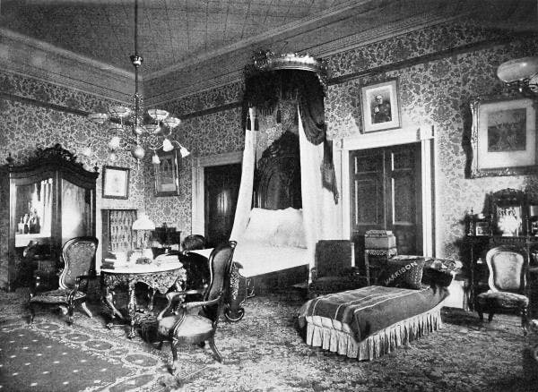 image of lincoln bedroom