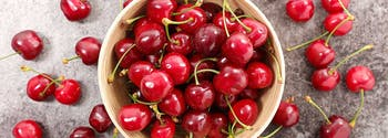 Surprising things to help you sleep - image of bowl of tart cherries