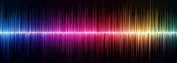 image of sound waves - sleeping with tinnitus