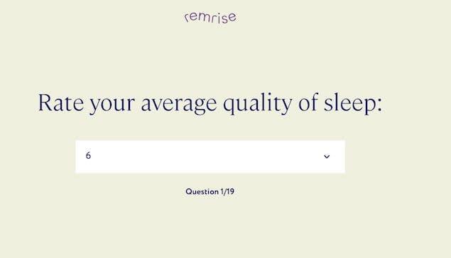 personalized sleep supplement quiz