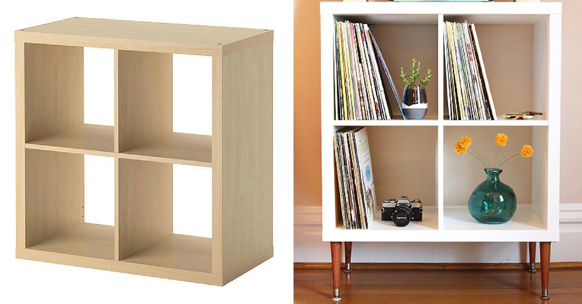 Kallax Shelf - DIY Ikea hacks