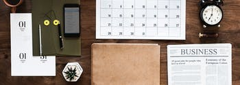 how sleep helps you keep new year's resolutions - image of organized desk