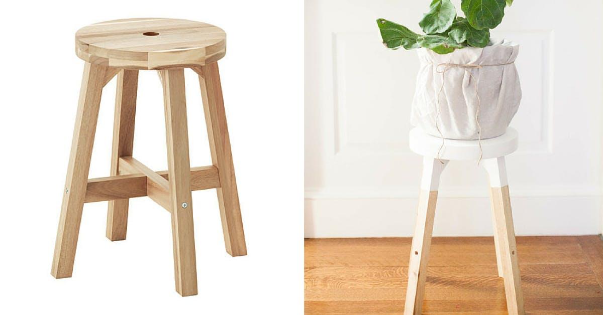 SKOGSTA stool - Ikea hacks pinterest