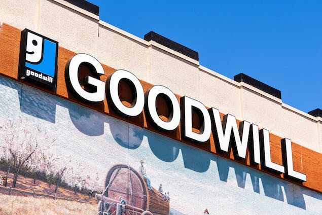 mattress donation - image of goodwill store