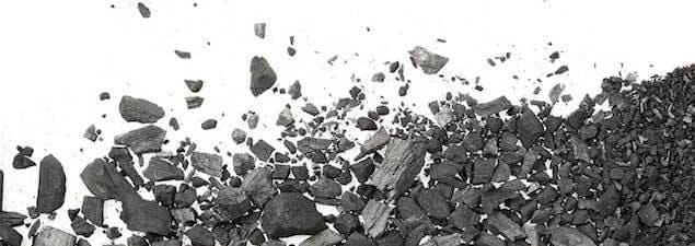 image of graphite in memory foam mattress topper