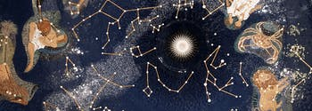 astrological signs and sleep - image of zodiac constellation