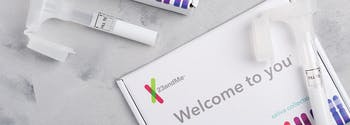 image of 23andme at-home dna test