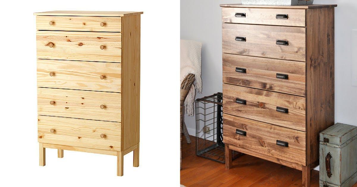Tarva Dresser - Most popular Ikea furniture