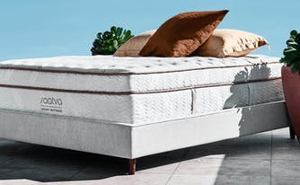 image of saatva classic mattress featured in luxe digital review