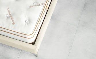image of saatva latex hyrbid mattress
