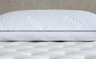 image of saatva memory foam pillow