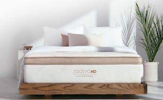 firm vs medium firm - saatva hd mattress image