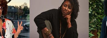 black influencers: tabitha brown, crystal jones, and adriana adele