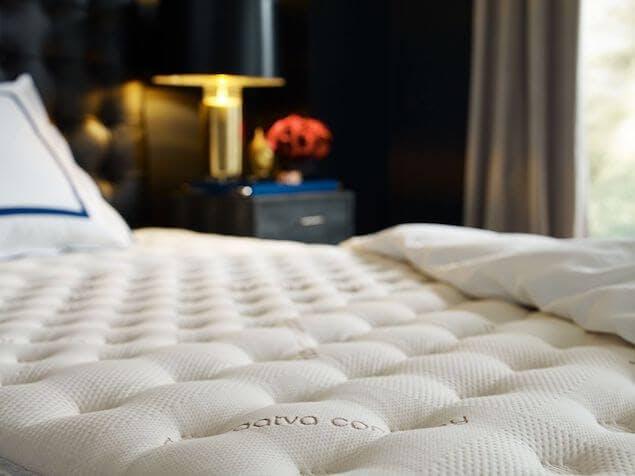best mattress brands - saatva classic close-up image