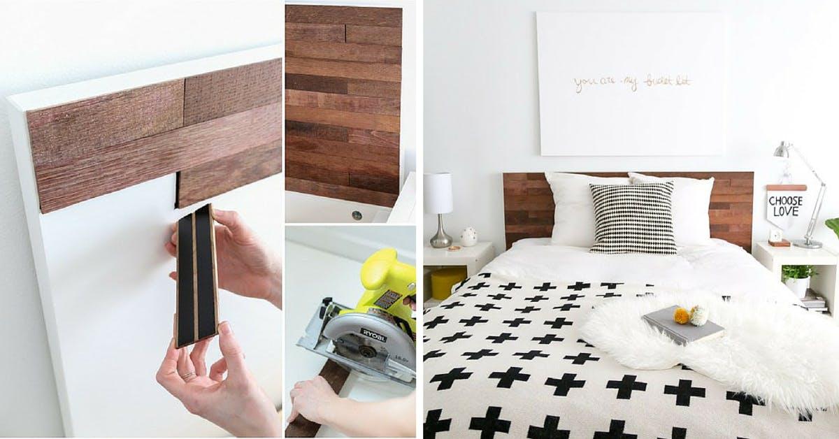 Malm Headboard - Ikea DIY projects