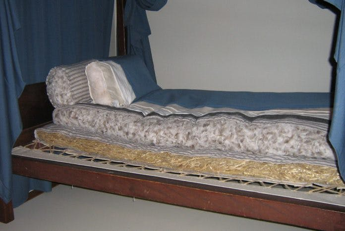 image of mattress from colonial era