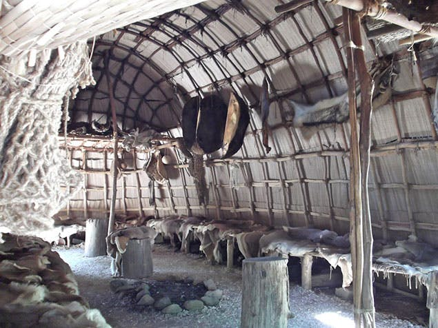 native american mattresses from 1700s