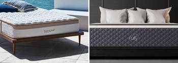 image of loom and leaf vs puffy mattresses