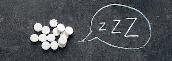 image of melatonin supplements