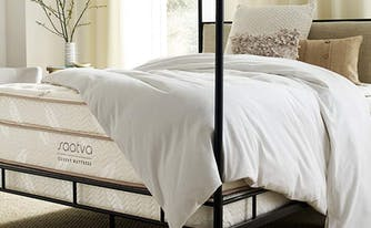 image of saatva luxury mattress
