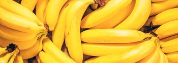 bunch of bananas, which can help promote sleep