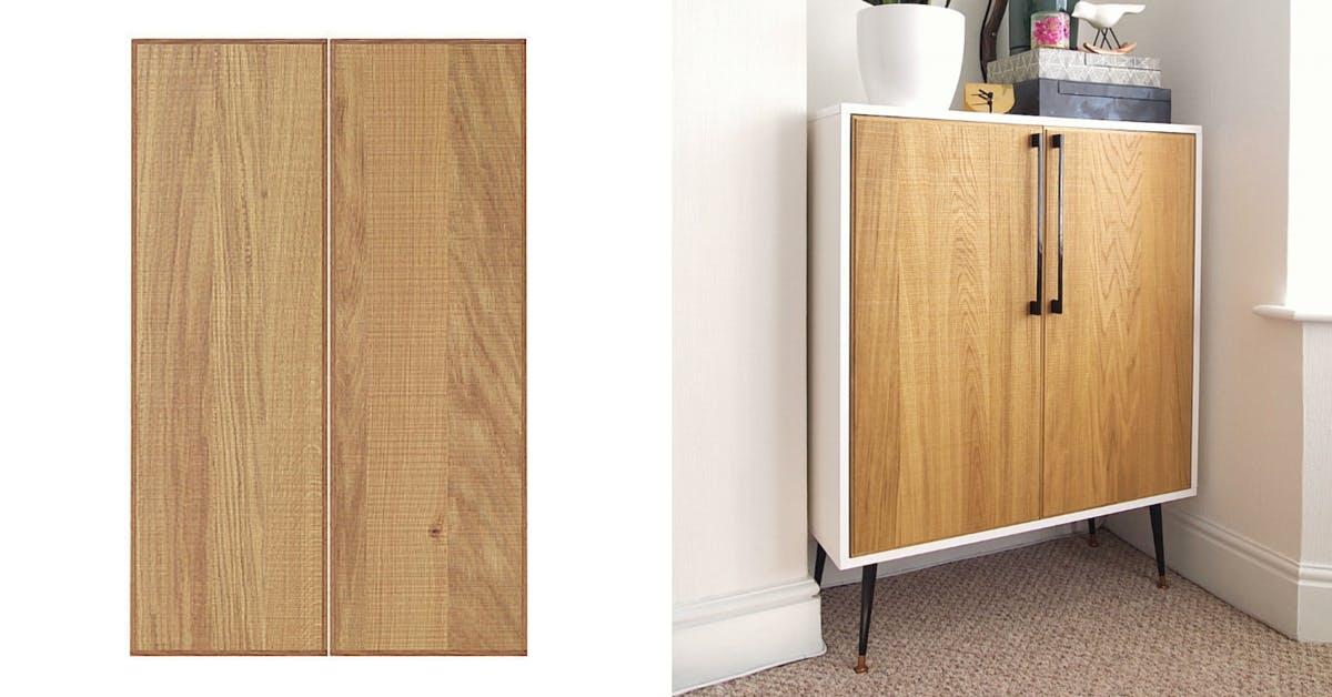 Hyttan Wall Cabinet - easy Ikea hacks