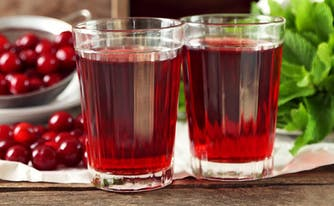 what to drink before bed - image of tart cherry juice