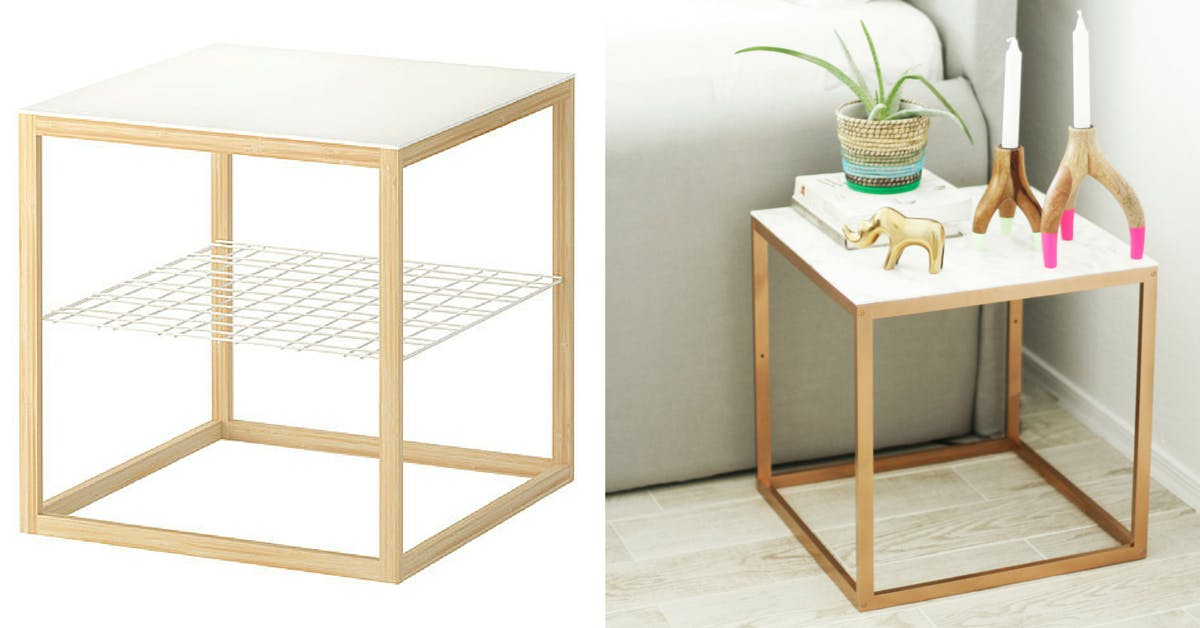 PS Side Table - Ikea entryway ideas