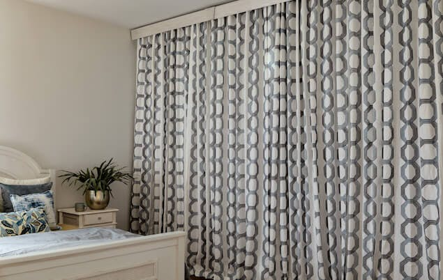 blackout curtains in bedroom
