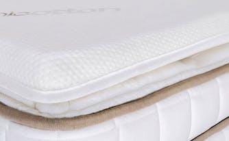 how to make mattress firmer - image of mattress topper