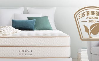 saatva wins sustainability award - image of saatva classic innerspring mattress