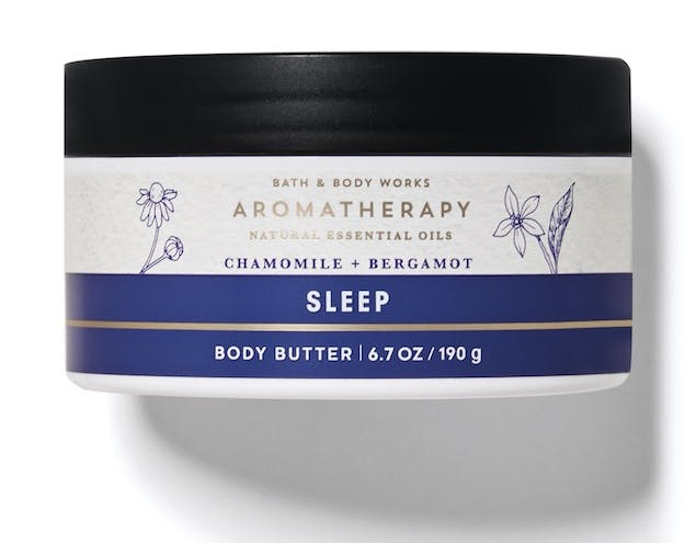 Bath & Body Works Sleep Body Butter for Mother's Day