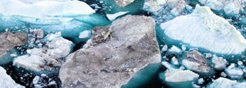 ice caps melting due to climate change and global warming
