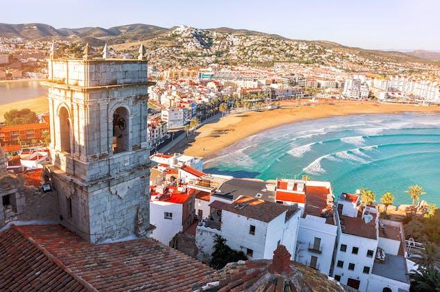 View of Valencia, Spain coastline