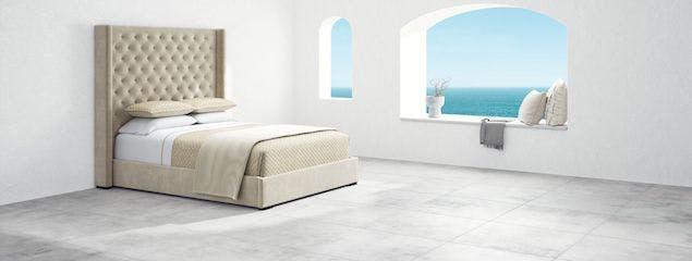 Saatva's Amalfi bed frame
